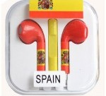 Auriculares Manos Libres Control Volumen Paises España iPhone 4 4S 5S 5C